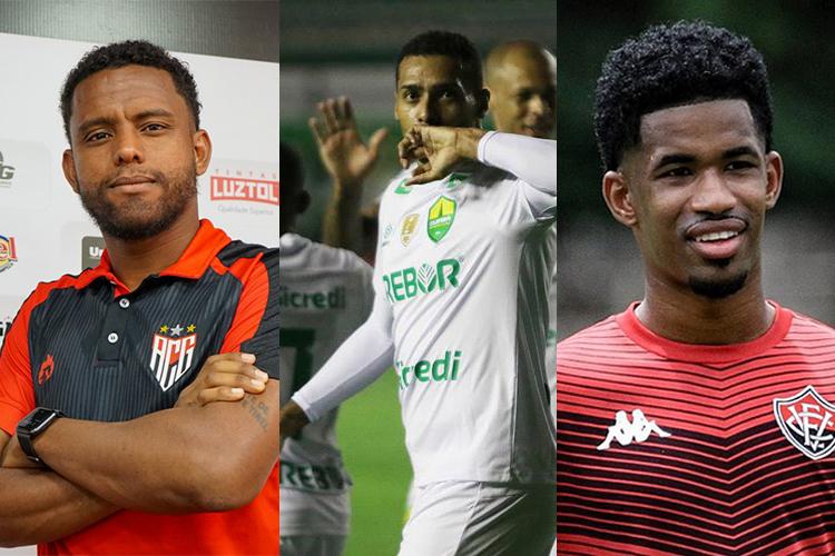 <i>(Foto: Heber Gomes/ACG; ASCOM/Dourado; Letícia Martins/ECV)</i>