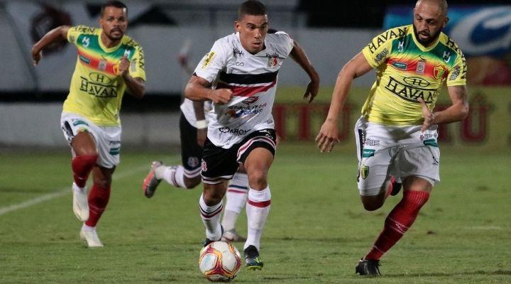 Lamentando, Toty reafirma que Série C não é o lugar do Santa - Foto: Rafael Melo/Santa Cruz