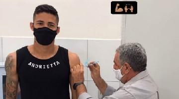 Camutanga recebe 1ª dose de vacina contra a Covid-19 - Foto: Reprodução/Instagram