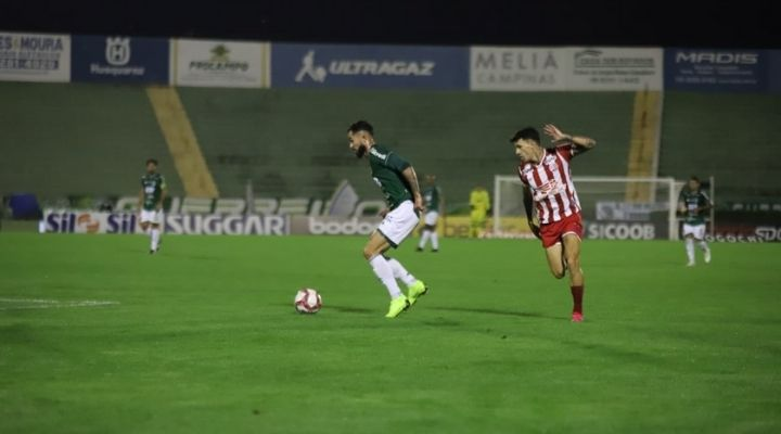 Ouça os gols da vitória do Náutico sobre o Guarani - Foto: Celso Congilio/Guarani FC