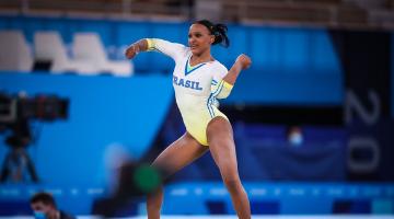 Por medalha, Rebeca Andrade pode fazer história nesta quinta - Foto: Gaspar Nóbrega/Time Brasil