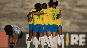 Na Paraíba, seleção feminina derrota Argentina em amistoso - Foto: Talita Gouveia/CBF